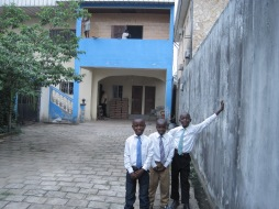 This are Nnané Stephen's kids. We were just getting out of church and they wanted to pose for a photo.
