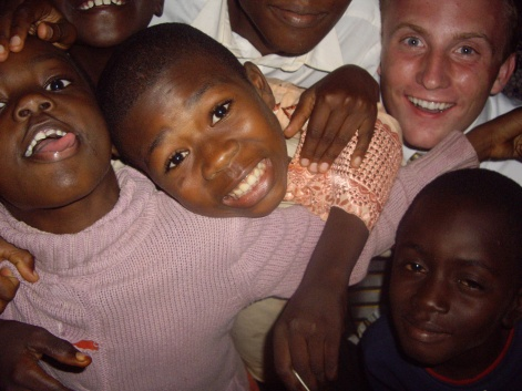 One of my favorite photos. This was about a week after I arrived. These kids were hilarious.